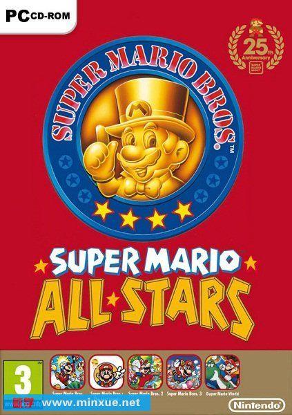 超级马里奥25周年纪念版 Anniversary Edition[压缩包] Super Mario All-Stars – 25th Anniversary Edition zip