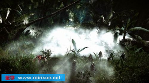 《孤岛危机1代》中                    更美的画面.