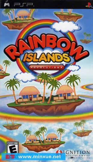 《泡泡龙进化+彩虹岛进化》汉化版[光盘镜像][psp]