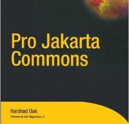 《Pro Jakarta Commons》
