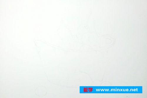 《【彩铅教程】樱桃彩铅绘画教程步骤》 _ 素描