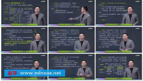 《2021年二建-法规机构HX视频教程》