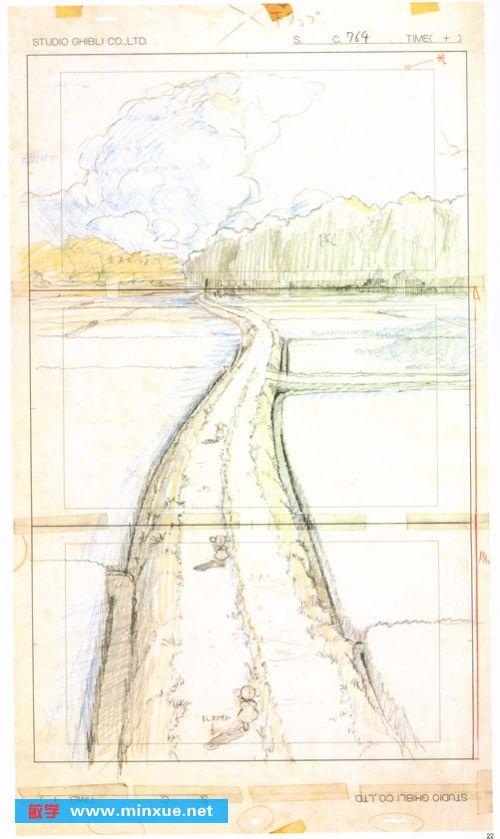 宫崎骏1968年到2008年的手稿