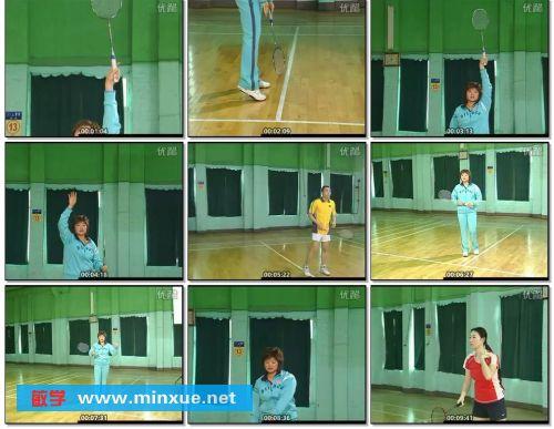 《吴迪西羽毛球技术入门》