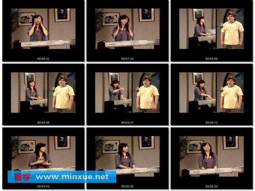 《唱歌速成视频教程(流行)》