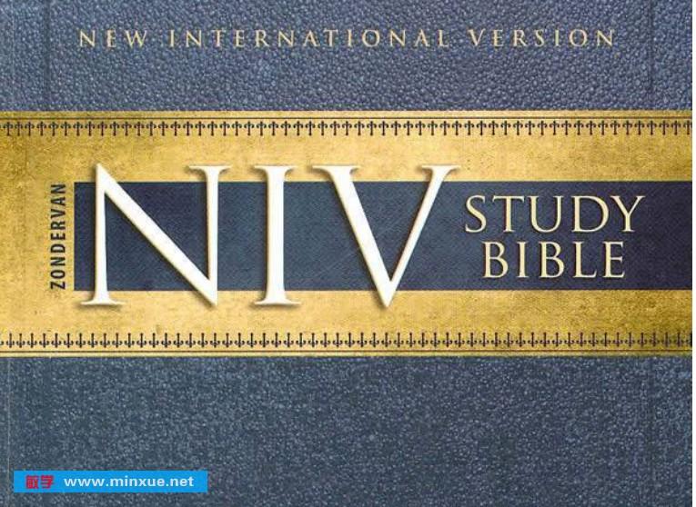 《圣经-NIV-中英双语 pdf》